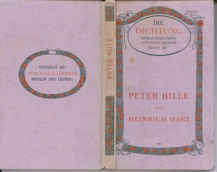 Peter Hille Von Heinrich Hart Ca 1905